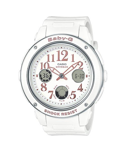 国内正規品 CASIO BABY-G カシオ ベビーG アナログ表示 レディース腕時計 BGA-150EF-7BJF