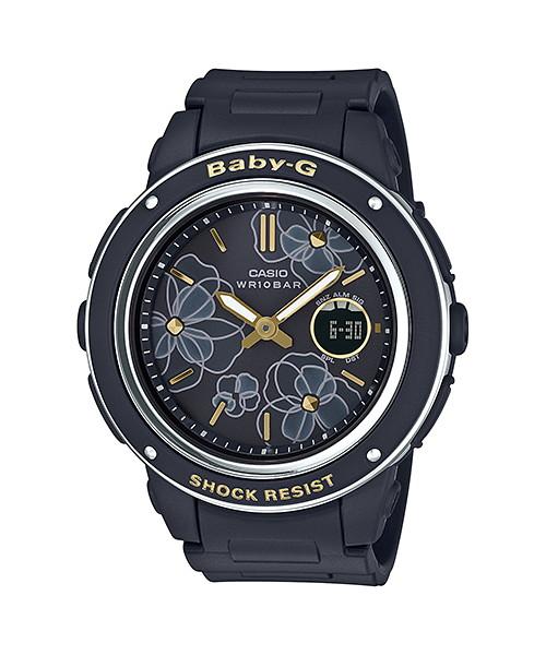 国内正規品 CASIO BABY-G カシオ ベビーG フローラルダイアルシリーズ レディース腕時計 BGA-150FL-1AJF