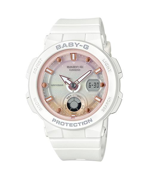 【最大10,000円引き♪お盆限定クーポン配布中】国内正規品 CASIO BABY-G カシオ ベビーG ビーチトラベラー ネオンイルミネーター レディース腕時計 BGA-250-7A2JF