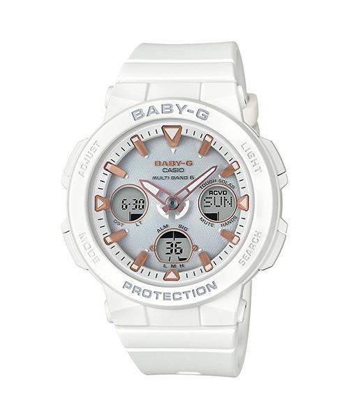 【最大10,000円引き♪お盆限定クーポン配布中】国内正規品 CASIO BABY-G カシオ ベビーG ビーチトラベラー ネオンイルミネーター レディース腕時計 BGA-2500-7AJF