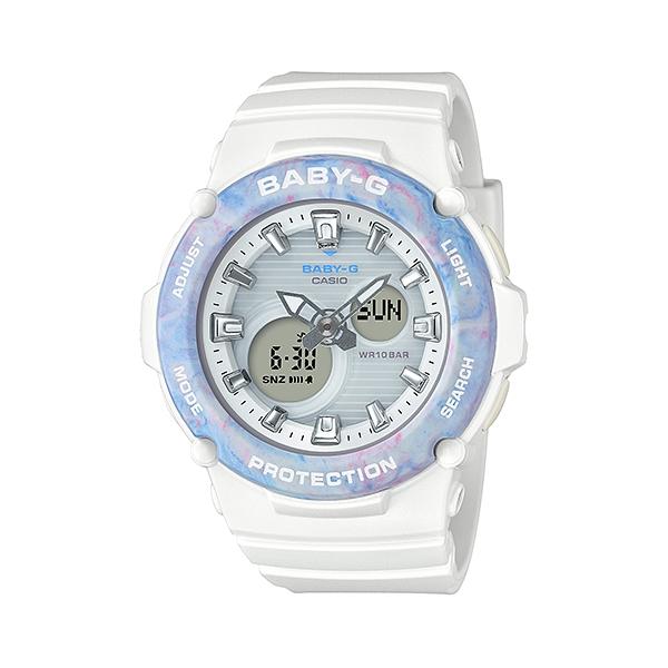 国内正規品 CASIO BABY-G カシオ ベビーG 樹脂バンド 10気圧防水 レディース腕時計 BGA-270M-7AJF