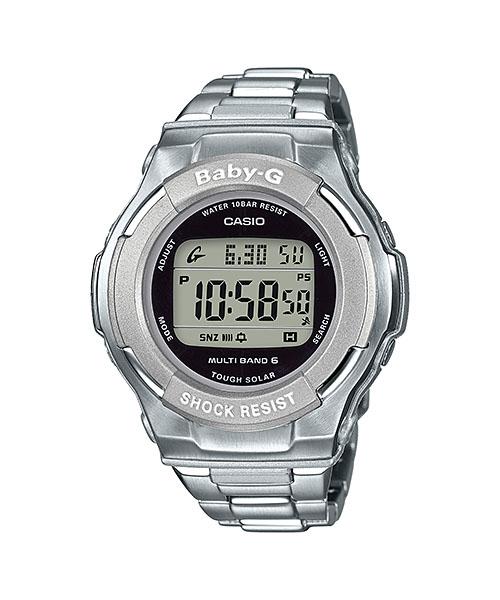 国内正規品 CASIO BABY-G カシオ ベビーG 電波ソーラー レディース腕時計 BGD-1300D-7JF