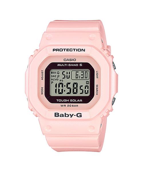国内正規品 CASIO BABY-G カシオ ベビーG 電波ソーラー レディース腕時計 BGD-5000-4BJF