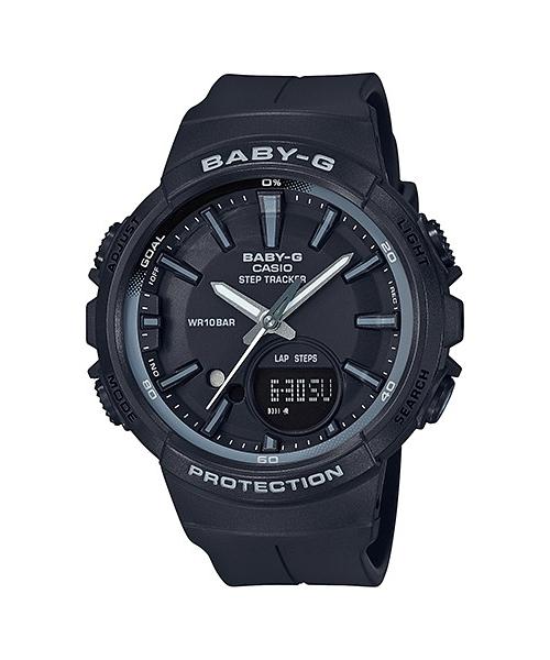 国内正規品 CASIO BABY-G カシオ ベビーG ランニング レディース腕時計 BGS-100SC-1AJF