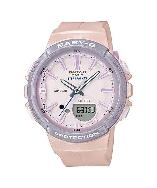 【最大10,000円引き♪お盆限定クーポン配布中】国内正規品 CASIO BABY-G カシオ ベビーG ランニング パステルカラー レディース腕時計 BGS-100SC-4AJF