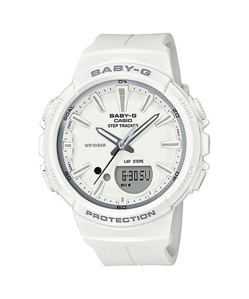 国内正規品 CASIO BABY-G カシオ ベビーG ランニング レディース腕時計 BGS-100SC-7AJF