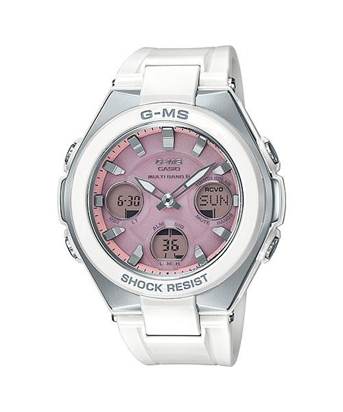 国内正規品 CASIO BABY-G カシオ ベビーG G-MS 電波ソーラー レディース腕時計 MSG-W100-7A3JF