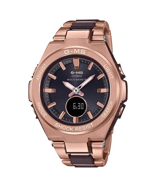 国内正規品 CASIO BABY-G カシオ ベビーG G-MS ジーミズ レディース腕時計 MSG-W200CG-5AJF
