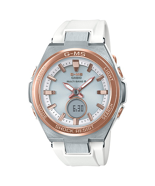 【最大10,000円引き♪お盆限定クーポン配布中】国内正規品 CASIO BABY-G カシオ ベビーG G-MS ソーラー 電波 レディース腕時計 MSG-W200RSC-7AJF