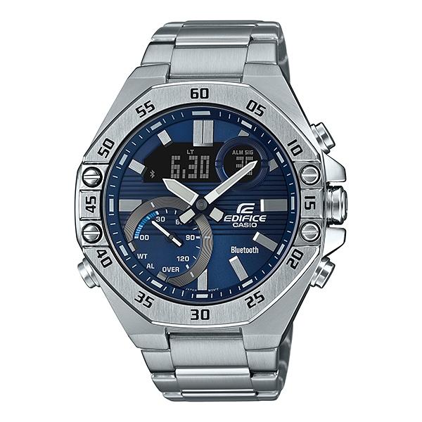 国内正規品 CASIO EDIFICE カシオ エディフィス メタルバンド 10気圧防水 モバイルリンク メンズ腕時計 ECB-10YD-2AJF