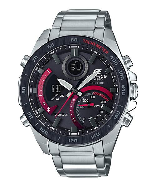 【最大10,000円引き♪お盆限定クーポン配布中】国内正規品 CASIO EDIFICE カシオ エディフィス タフソーラー Bluetoothアプリ対応 メンズ腕時計 ECB-900YDB-1AJF