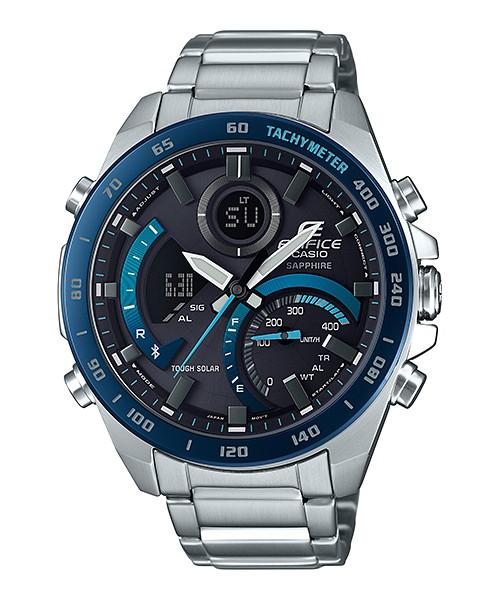 国内正規品 CASIO EDIFICE カシオ エディフィス タフソーラー Bluetoothアプリ対応 メンズ腕時計 ECB-900YDB-1BJF