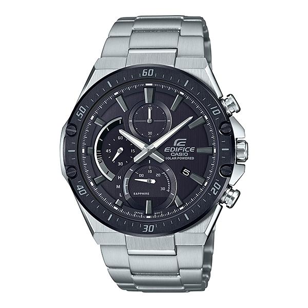 国内正規品 CASIO EDIFICE カシオ エディフィス メタルバンド 10気圧防水 ソーラー充電システム メンズ腕時計 EFS-S560YDB-1AJF