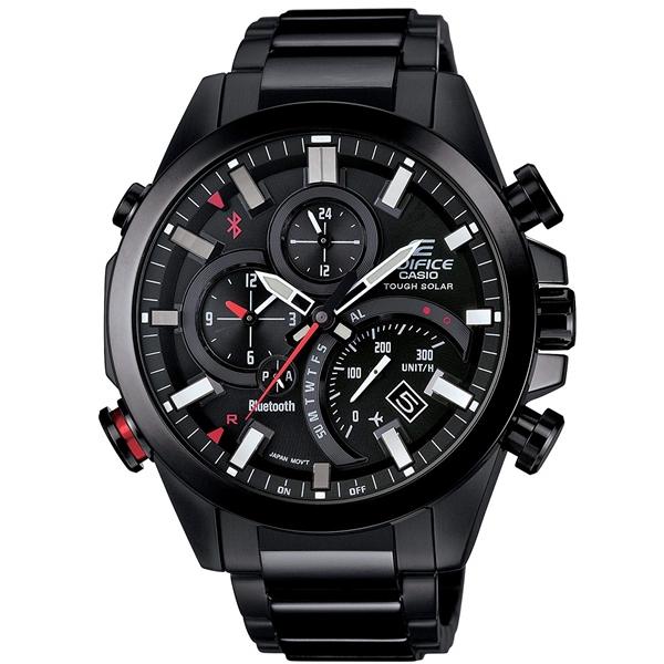 国内正規品 CASIO EDIFICE カシオ エディフィス モバイルリンク タフソーラー メンズ腕時計 EQB-501DC-1AJF
