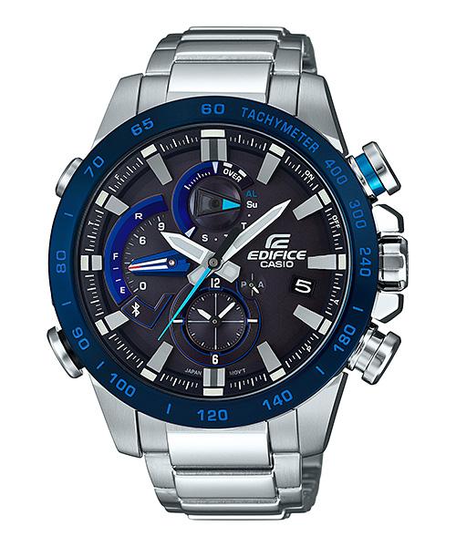 国内正規品 CASIO EDIFICE カシオ エディフィス Bluetoothスマホ対応 メンズ腕時計 EQB-800DB-1AJF