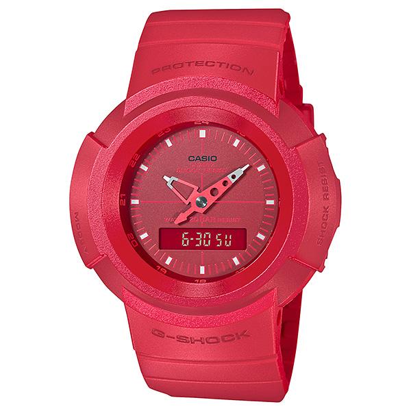 サイズ調整無料 国内正規品 CASIO G-SHOCK カシオ Gショック 最安値挑戦 信用 リバイバル レッド デジタルモデル アナログ AW-500BB-4EJF メンズ腕時計