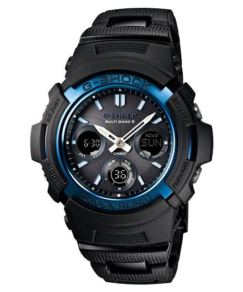 国内正規品 CASIO G-SHOCK カシオ Gショック 電波ソーラー ブラック メンズ腕時計 AWG-M100BC-2AJF