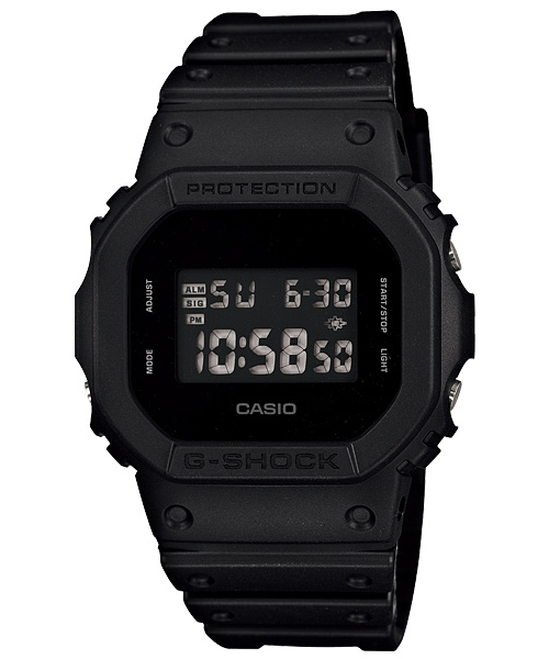 Casio g-shock SOLID COLORS ソリッドカラーズ watch DW-5600BB-1JF