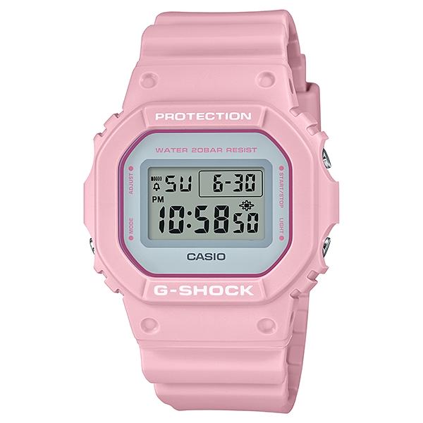 サイズ調整無料 国内正規総代理店アイテム 大注目 国内正規品 CASIO G-SHOCK カシオ Gショック ピンク DW-5600SC-4JF メンズ腕時計 ユニセックス 20気圧防水 樹脂バンド