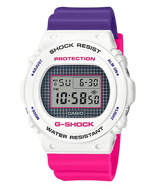 国内正規品 CASIO G-SHOCK カシオ Gショック ペアモデル 25周年スペシャルロゴカラー メンズ腕時計 DW-5700THB-7JF