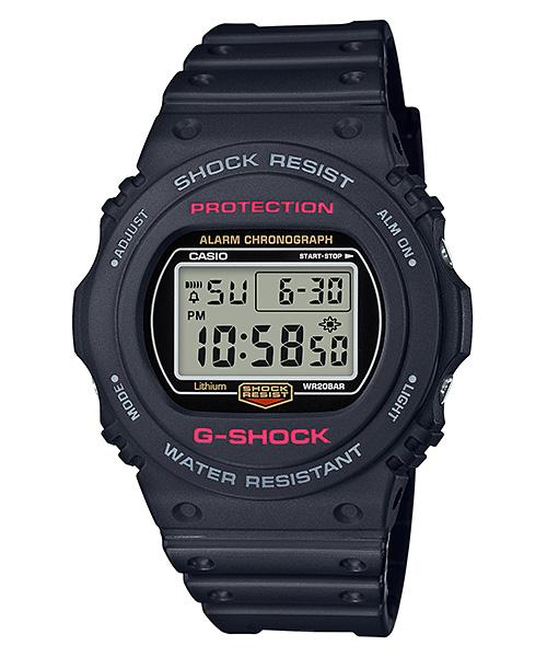 国内正規品 CASIO G-SHOCK カシオ Gショック 生誕35周年記念 復刻モデル 20気圧防水 メンズ腕時計 DW-5750E-1JF