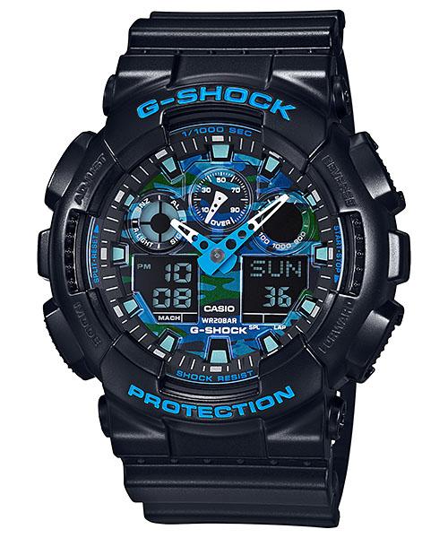 【最大10,000円引き♪お盆限定クーポン配布中】国内正規品 CASIO G-SHOCK カシオ Gショック メンズ腕時計 GA-100CB-1AJF