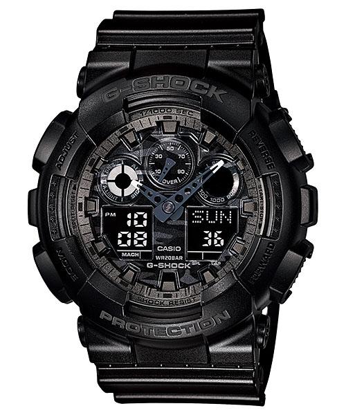 国内正規品 CASIO G-SHOCK カシオ Gショック 文字板カモフラージュ メンズ腕時計 GA-100CF-1AJF
