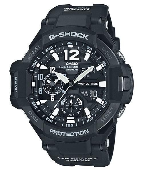 【最大10,000円引き♪お盆限定クーポン配布中】国内正規品 CASIO G-SHOCK カシオ Gショック SKY COCKPIT スカイコックピット メンズ腕時計 GA-1100-1AJF