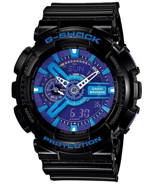 国内正規品 CASIO G-SHOCK カシオ Gショック ハイパーカラーズ メンズ腕時計 GA-110HC-1AJF