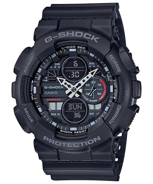 国内正規品 CASIO G-SHOCK カシオ Gショック アナデジ メンズ腕時計 GA-140-1A1JF