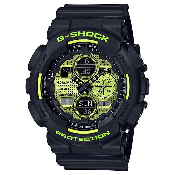 サイズ調整無料 国内正規品 CASIO G-SHOCK カシオ 海外 20気圧防水 樹脂バンド メンズ腕時計 Gショック 激安卸販売新品 GA-140DC-1AJF