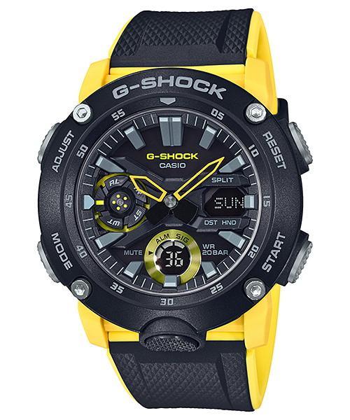 国内正規品 CASIO G-SHOCK カシオ Gショック カーボンコアガード メンズ腕時計 GA-2000-1A9JF