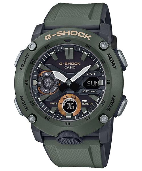 国内正規品 CASIO G-SHOCK カシオ Gショック ミリタリー メンズ腕時計 GA-2000-3AJF
