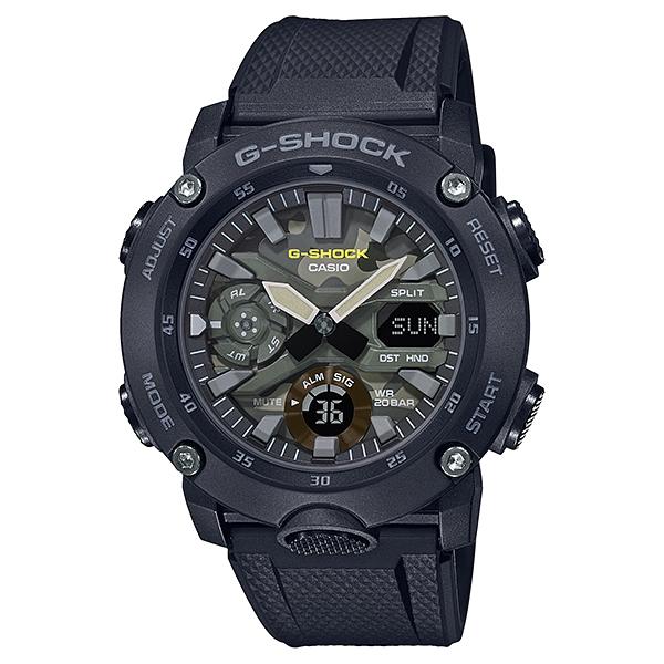 サイズ調整無料 保証 国内正規品 CASIO G-SHOCK カシオ 20気圧防水 世界の人気ブランド メンズ腕時計 Gショック GA-2000SU-1AJF 樹脂バンド
