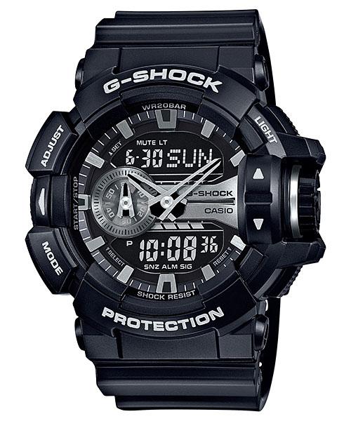 サイズ調整無料 国内正規品 CASIO 好評 G-SHOCK 店 Gショック カシオ GA-400GB-1AJF メンズ腕時計