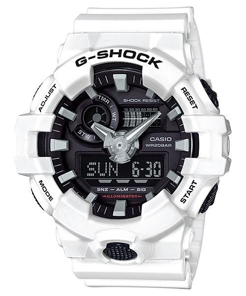 【最大10,000円引き♪お盆限定クーポン配布中】国内正規品 CASIO G-SHOCK カシオ Gショック 20気圧防水 メンズ腕時計 GA-700-7AJF