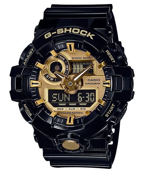 国内正規品 CASIO G-SHOCK カシオ Gショック ガリッシュカラー メンズ腕時計 GA-710GB-1AJF