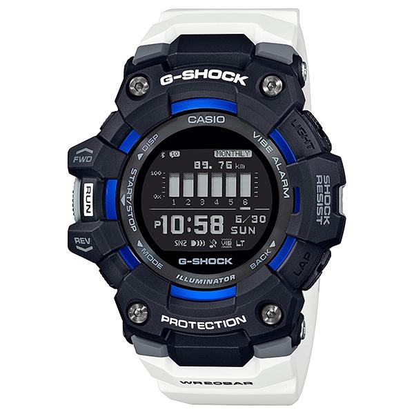 サイズ調整無料 迅速な対応で商品をお届け致します 国内正規品 CASIO G-SHOCK カシオ Gショック 訳あり メンズ腕時計 G-SQUAD GBD-100-1A7JF 樹脂バンド 20気圧防水 モバイルリンク