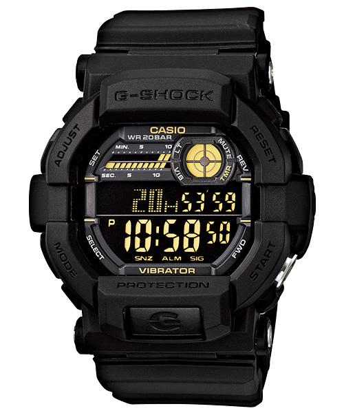 国内正規品 CASIO G-SHOCK カシオ Gショック 20気圧防水 メンズ腕時計 GD-350-1BJF