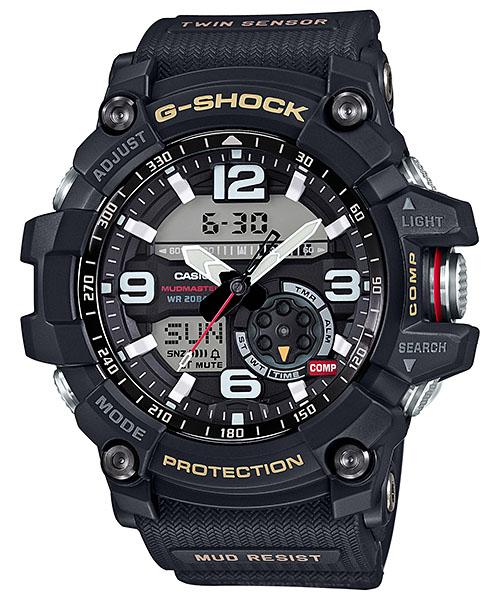 【最大10,000円引き♪お盆限定クーポン配布中】国内正規品 CASIO G-SHOCK カシオ Gショック MUDMASTER マッドマスター メンズ腕時計 GG-1000-1AJF