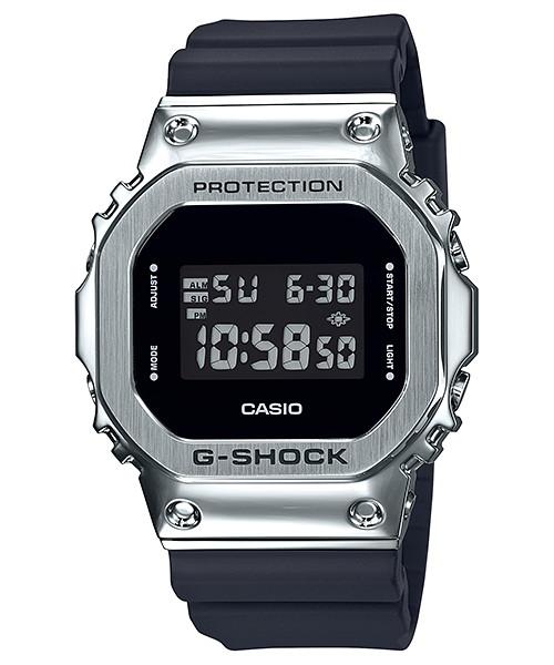 国内正規品 CASIO G-SHOCK カシオ Gショック メタルベゼル メンズ腕時計 GM-5600-1JF