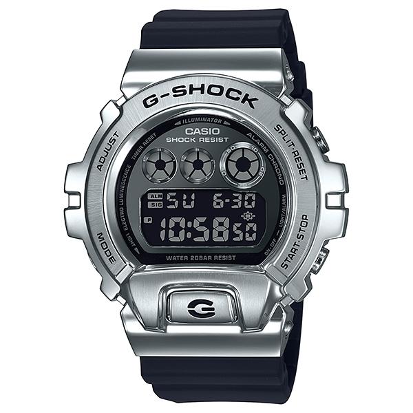 国内正規品 CASIO G-SHOCK カシオ Gショック 樹脂バンド 20気圧防水 メンズ腕時計 GM-6900-1JF