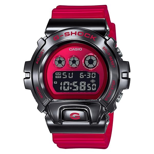 国内正規品 CASIO G-SHOCK カシオ Gショック 樹脂バンド 20気圧防水 メンズ腕時計 GM-6900B-4JF