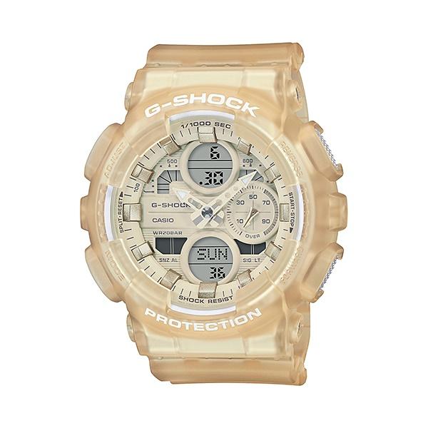 【最大10,000円引き♪お盆限定クーポン配布中】国内正規品 CASIO G-SHOCK カシオ Gショック スケルトン 樹脂バンド ジェンダーレス メンズ腕時計 GMA-S140NC-7AJF