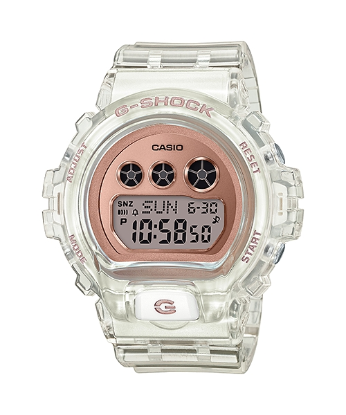 サイズ調整無料 国内正規品 送料無料新品 CASIO G-SHOCK カシオ Gショック 20気圧防水 GMD-S6900SR-7JF メンズ腕時計 爆買い送料無料 樹脂バンド
