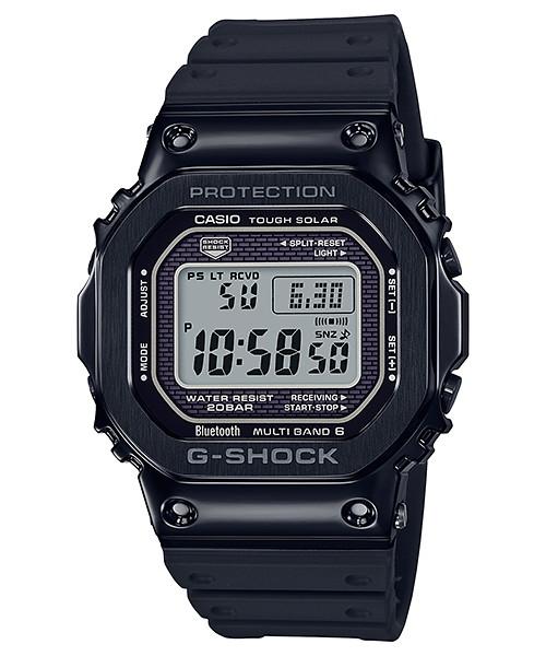 国内正規品 CASIO G-SHOCK カシオ Gショック 電波ソーラー メタルベゼル アプリ対応 Bluetooth メンズ腕時計 GMW-B5000G-1JF