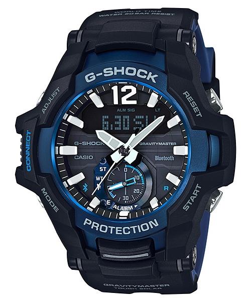 【最大10,000円引き♪お盆限定クーポン配布中】国内正規品 CASIO G-SHOCK カシオ Gショック グラビティマスター アプリ対応 Bluetooth メンズ腕時計 GR-B100-1A2JF