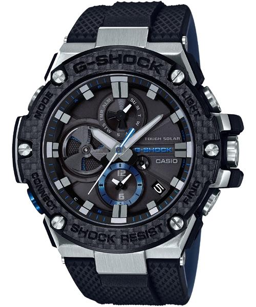 【最大10,000円引き♪お盆限定クーポン配布中】国内正規品 CASIO G-SHOCK カシオ Gショック G-STEEL アプリ対応 メンズ腕時計 GST-B100XA-1AJF