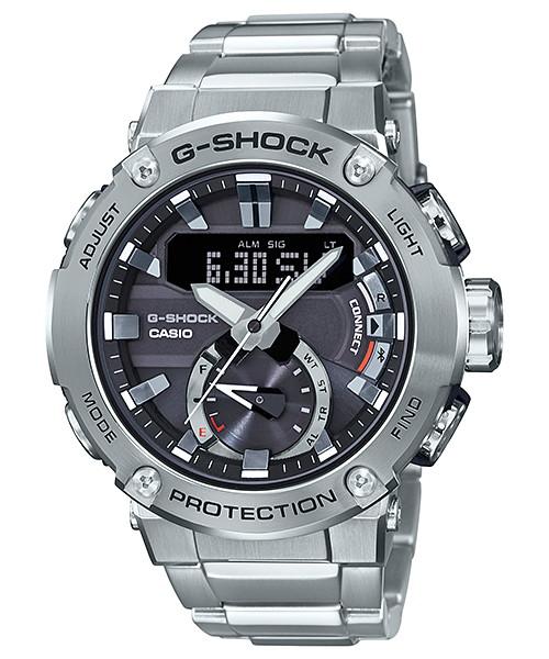 国内正規品 CASIO G-SHOCK カシオ Gショック G-STEEL アプリ対応 メンズ腕時計 GST-B200D-1AJF