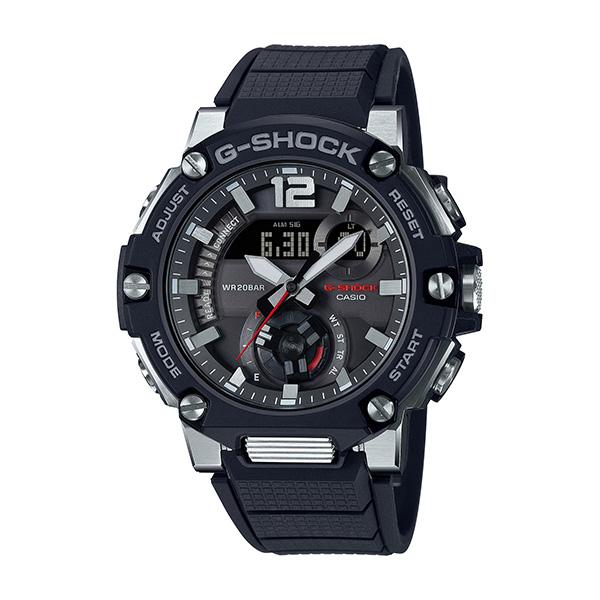 <title>サイズ調整無料 国内正規品 CASIO G-SHOCK カシオ Gショック モバイルリンク タフソーラー 限定モデル ソフトウレタンバンド ラギッドスタイル メンズ腕時計 GST-B300-1AJF</title>